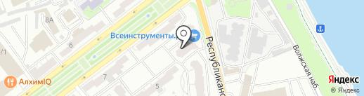 ЭкспертБезопасности на карте Ярославля