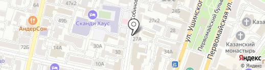 Эдельвейс-сервис на карте Ярославля