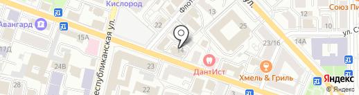 СБМ на карте Ярославля