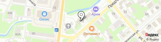 Кроха на карте Вологды