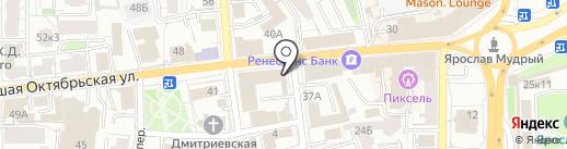 Берифильтр на карте Ярославля
