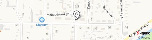 Продуктовый магазин на карте Дорожного