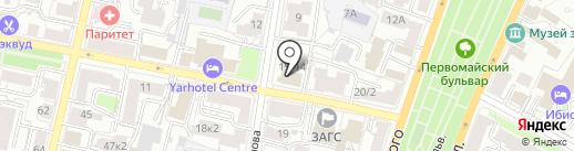 Курс на ДОВЕРИЕ на карте Ярославля