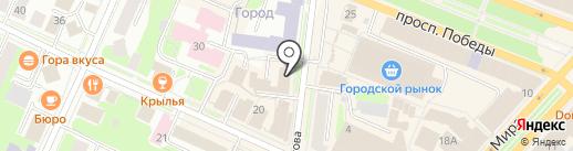 Управление Судебного департамента в Вологодской области на карте Вологды