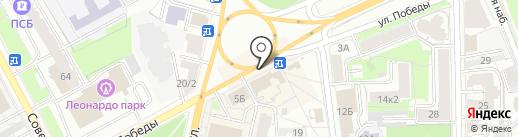 РосДеньги на карте Ярославля