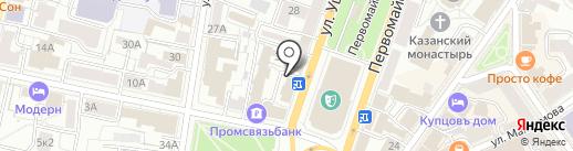 Компания по продаже чая и кофе на карте Ярославля