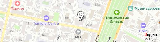 Твой Город на карте Ярославля