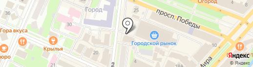 Intourist на карте Вологды