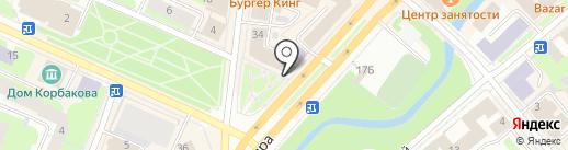 Свежая пресса на карте Вологды