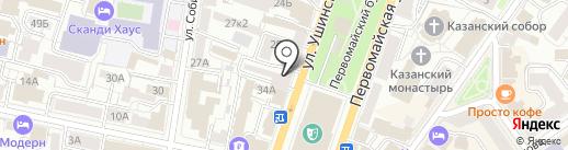 City-Hostel на карте Ярославля