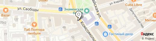 ТрудЭксперт на карте Ярославля