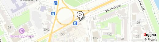 Курочка Гриль на карте Ярославля