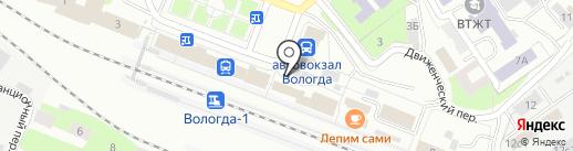 Роспечать-Вологда на карте Вологды