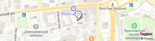 Форум на карте Ярославля
