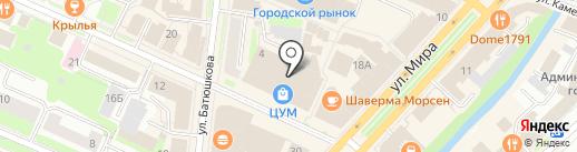 Ювелирно-граверная мастерская на карте Вологды