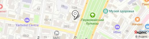 4ERDAK на карте Ярославля