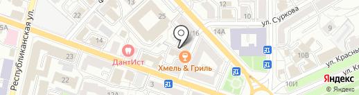 Стильный эко Дом на карте Ярославля