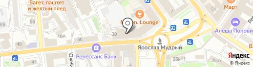 Интер-Сервис на карте Ярославля