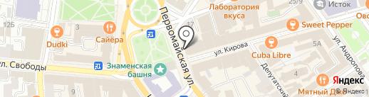 Эшфорд на карте Ярославля