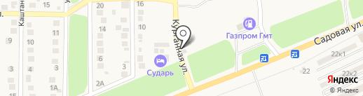 Сударь на карте Аксая