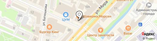 Sela на карте Вологды