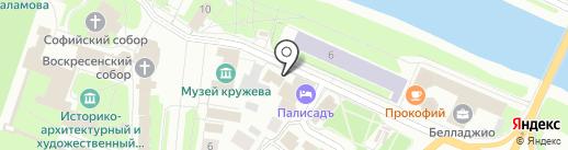 Кремлевский на карте Вологды