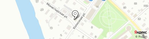 Прилукский специальный дом-интернат для престарелых и инвалидов на карте Вологды