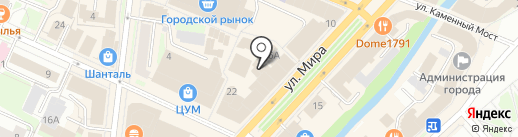 Гаршинка на карте Вологды