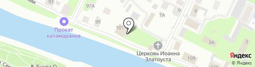 Вологодский гарнизонный военный суд на карте Вологды