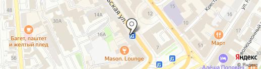 Титан на карте Ярославля
