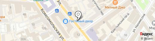 Быстроденьги на карте Ярославля