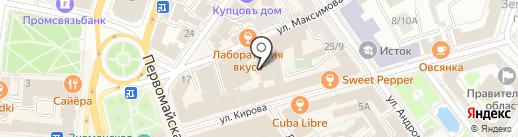 Dry pool на карте Ярославля