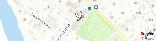 Почтовое отделение на карте Вологды