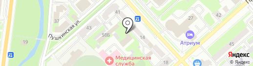 Центр лицензионно-разрешительной работы Управления войск национальной гвардии по Вологодской области на карте Вологды