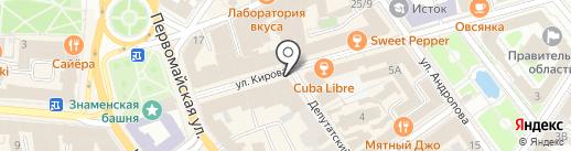 Ravenna на карте Ярославля