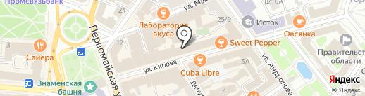 Магазин Белевской пастилы на карте Ярославля
