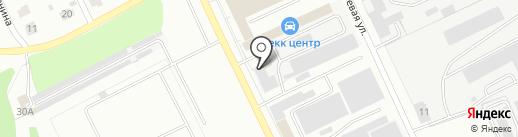Cordiant на карте Ярославля