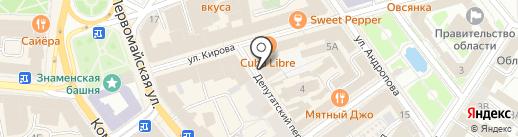 СТЕЙКХАУС на карте Ярославля