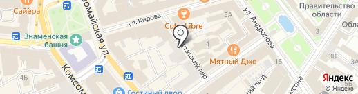 Содружество на карте Ярославля