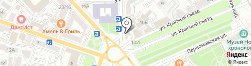 Гриль-доналдс на карте Ярославля