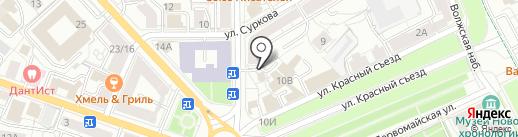 Мастерская-магазин на карте Ярославля
