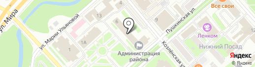 Управление социальной защиты населения по муниципальному образованию на карте Вологды