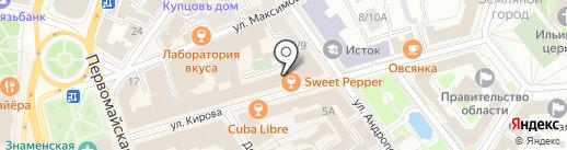 Два брата на карте Ярославля