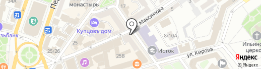 KAUFHAUS на карте Ярославля