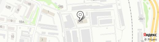 Карнова на карте Ярославля