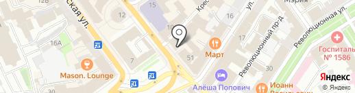 Магазин для художников на карте Ярославля