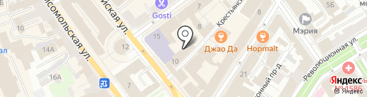 Arcobaleno на карте Ярославля