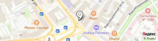 Фонбет на карте Ярославля