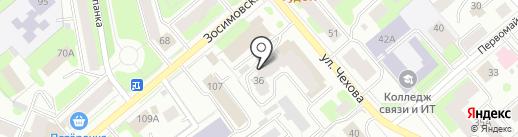 Стройинвест на карте Вологды
