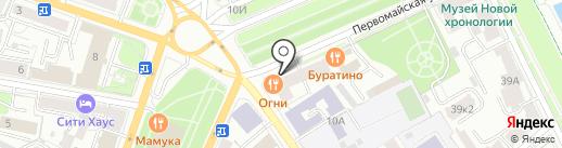ДомЪ Права на карте Ярославля